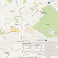 Google Map, mit Klick vergrößern ...